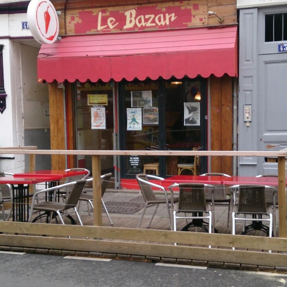 Bar électro/hip-hop le Bazar à Angers
