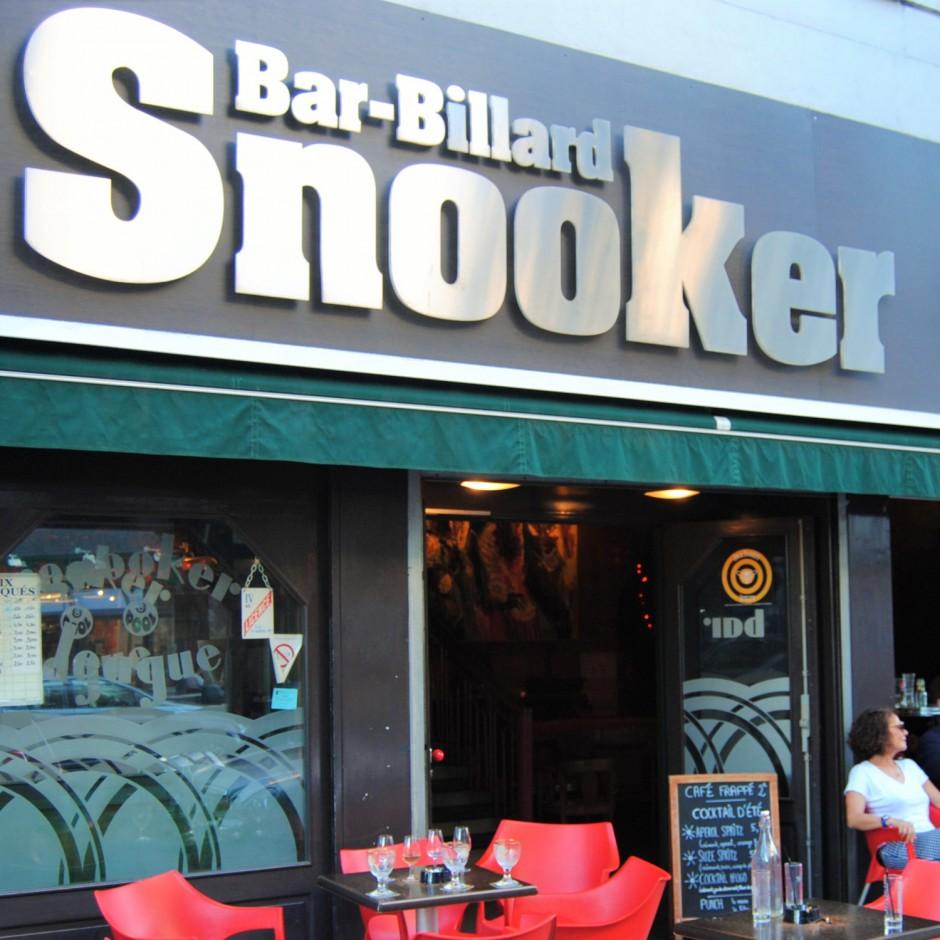 Bar le Snooker à Angers