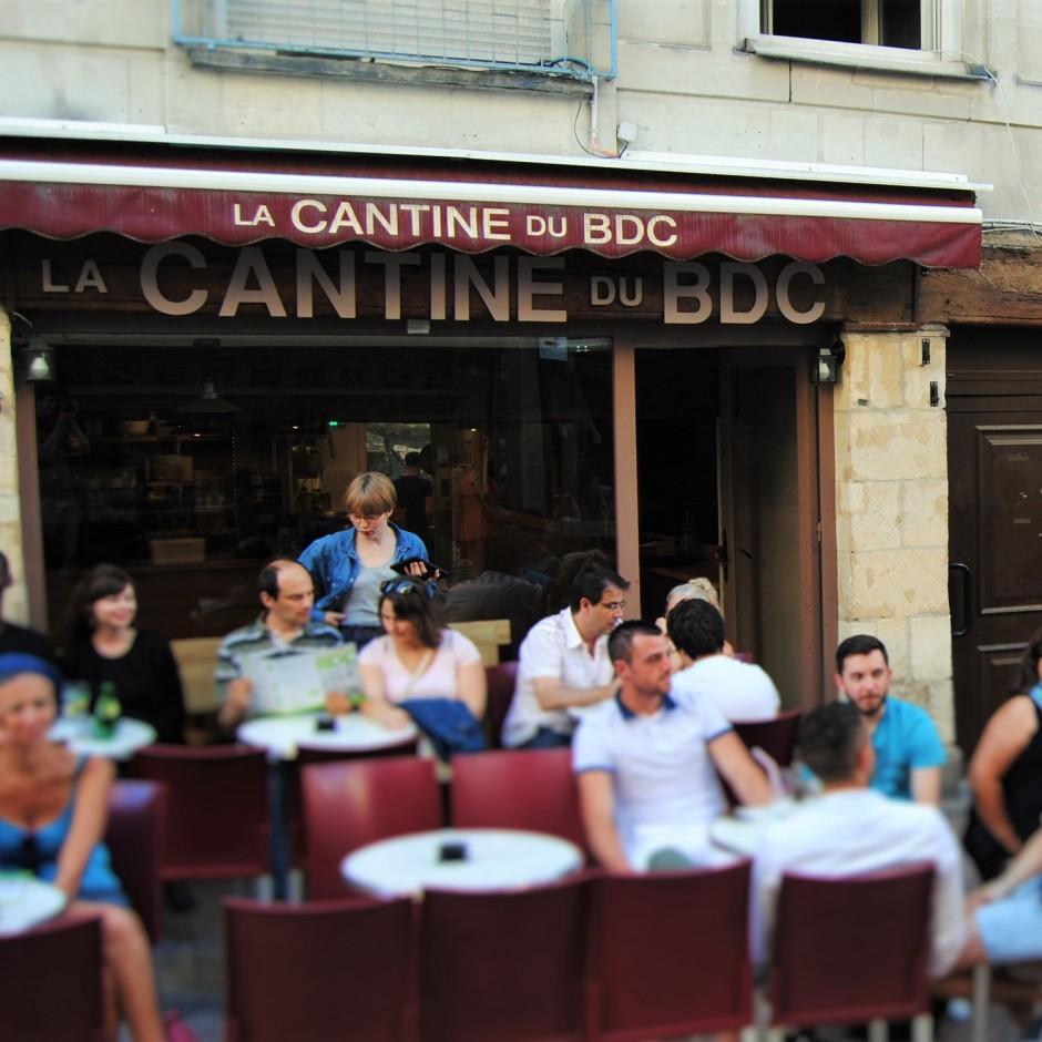 La cantine du BDC à Angers