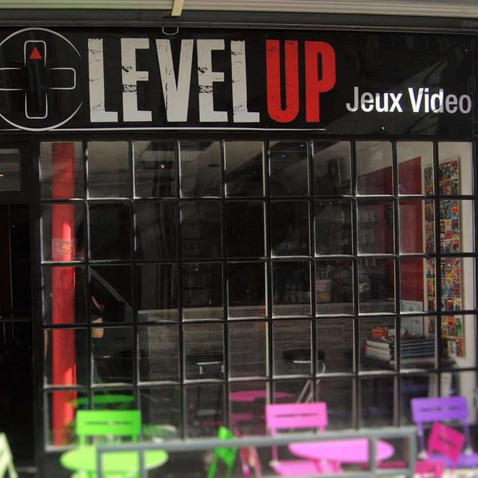 Bar à jeux vidéo le Level Up à Angers