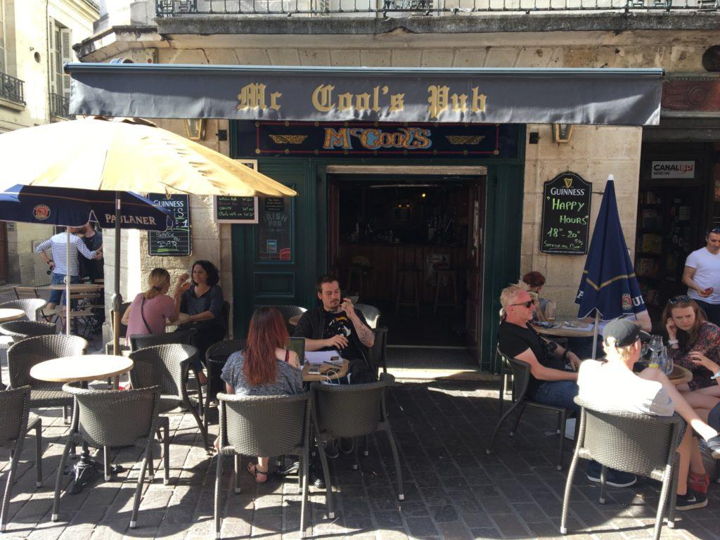 Mc Cool : pub irlandais à Tours