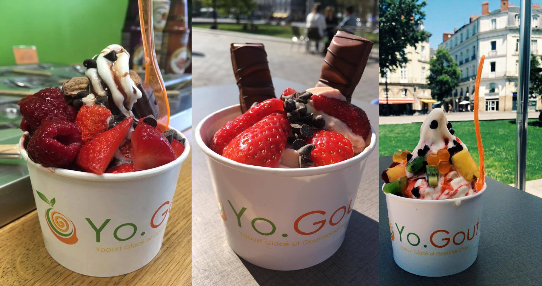 Yo.Gout, magasin de Frozen Yogurt à Nantes