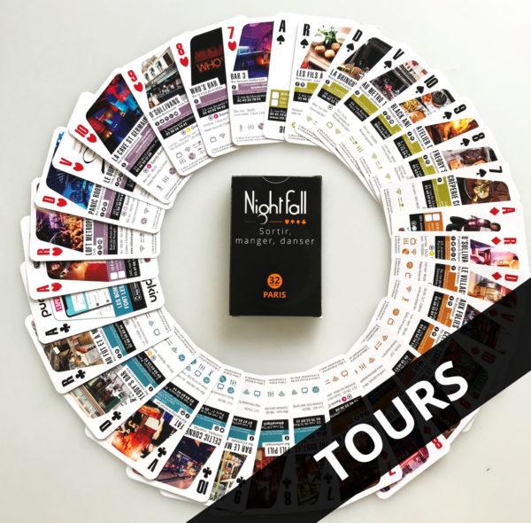 Jeux de cartes 2018 Tours
