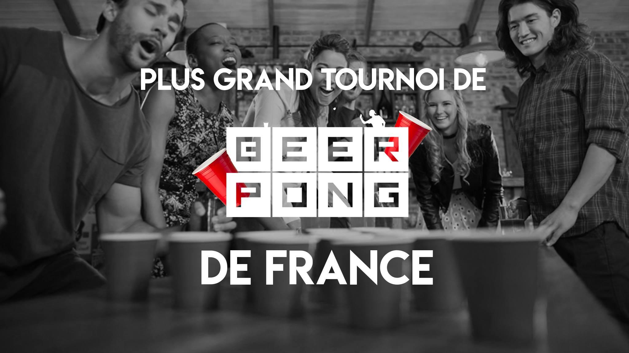 Tournoi de Beer pong
