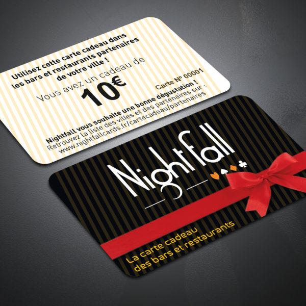 Carte Cadeau Nightfall